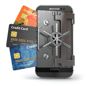 credit-cards-behind-safe